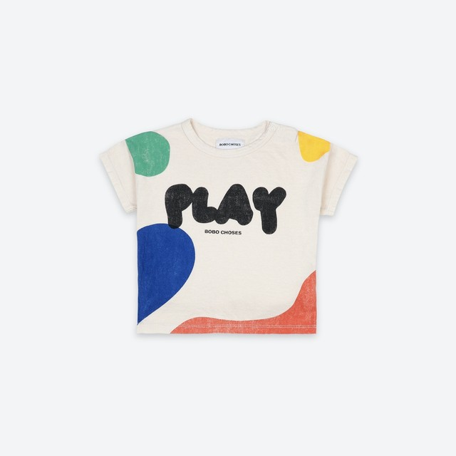 《BOBO CHOSES 2021SS》Play Landscape T-Shirt / 6-36M