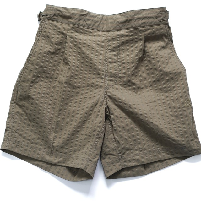 COLONY CLOTHING / POOL SIDE SHORTS Wide Seersucker
