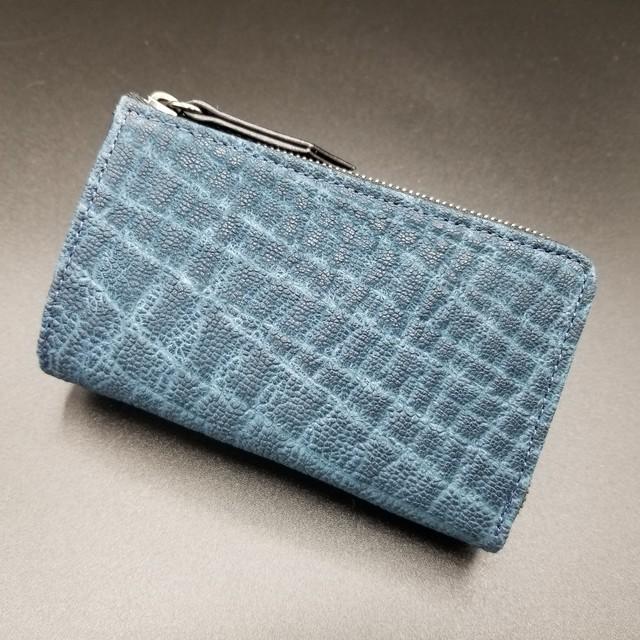 L Type Zip Wallet/Elephant