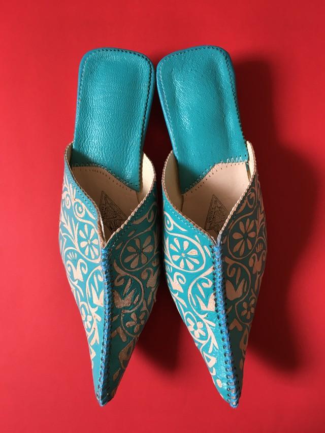 Babouche Heel