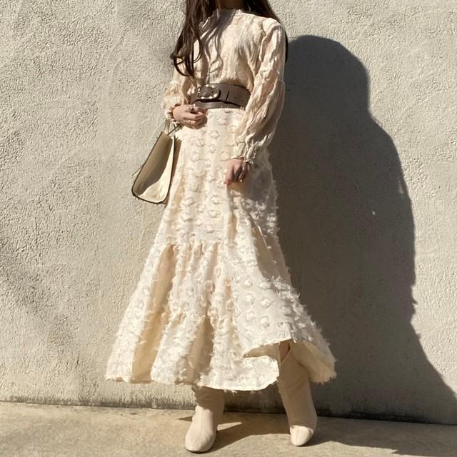 fluffy skirt[923-26]