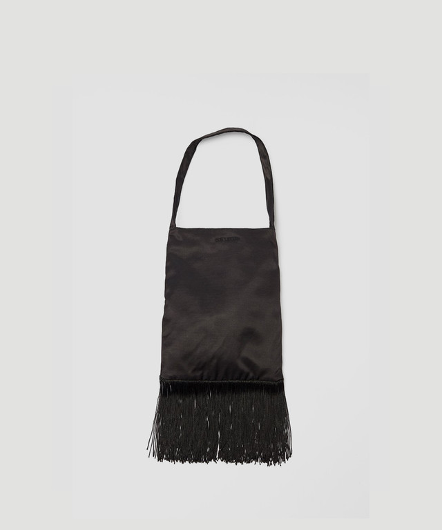OUR LEGACY Fringe Bag Black A4191FB