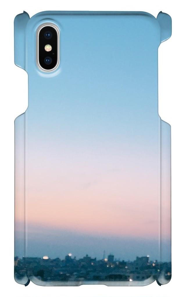 スマホケース【夕焼け】iPhoneX sunset002