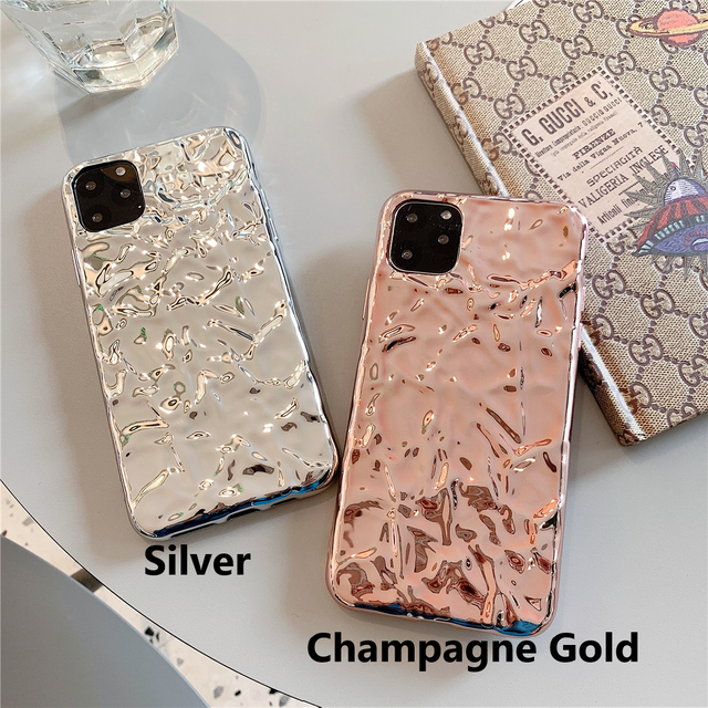 Illumination Silver gold iphone case