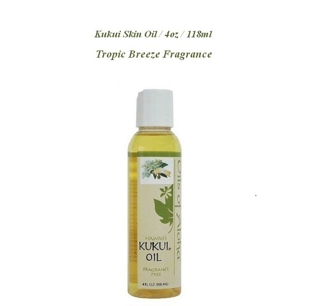 Kukui skin oil / Tropic Breeze / 118ml