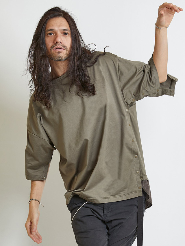 EGO TRIPPING (エゴトリッピング) DISMANTLE TEE ディスマントルTシャツ / BEIGE 663852-32