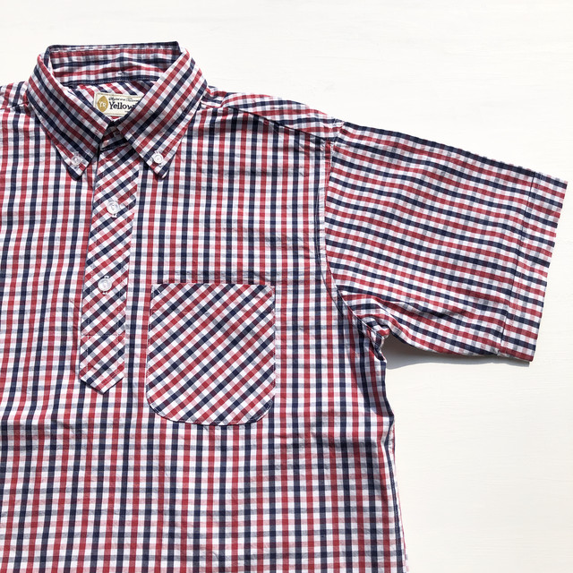 "Yellow Rat ""Pull-over Button-down S/S Shirts"""