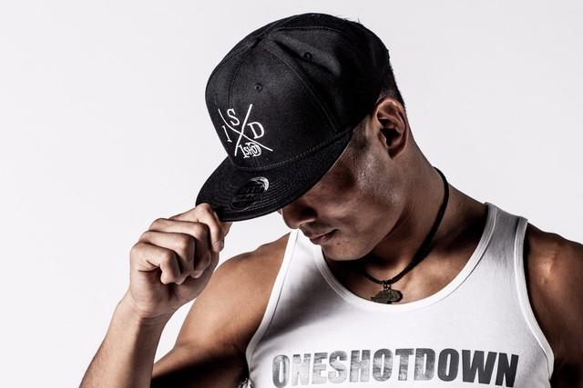 ONESHOTDOWN XデザインCAP - メイン画像