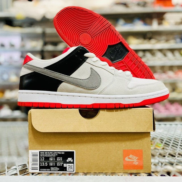 NIKE SB DUNK LOW PRO ISO AM90 INFRARED CD2563-004 30cm 88712