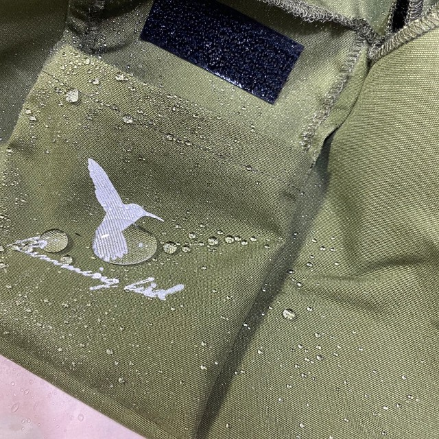 Hummingbird ウォッシュドコットンショルダーバッグ