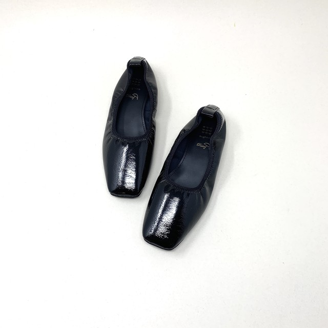 Square soft Flat shoes|スクエアフラットレインシューズ_#ot81351s|【Ought=na】|madeinjapan|日本製|晴雨兼用