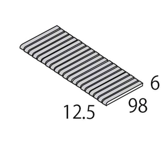 IPボーダーC IP-340C短辺 単色 100×15ボーダー 短辺面取/SWAN TILE」 スワンタイル ナチュラル エレガント