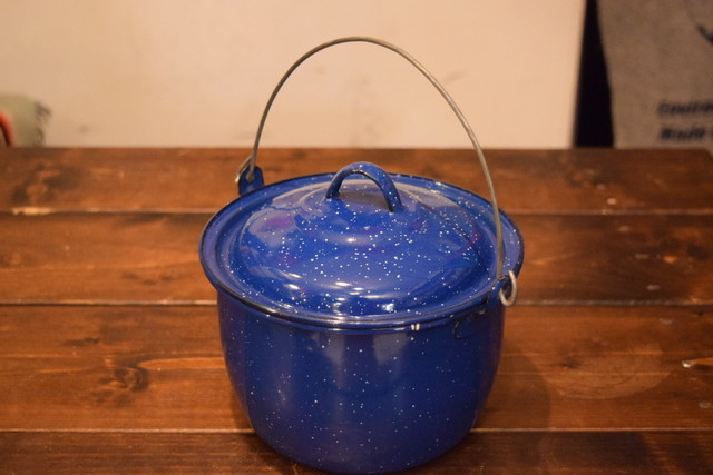 USED 琺瑯鍋 Cooking pot G0147