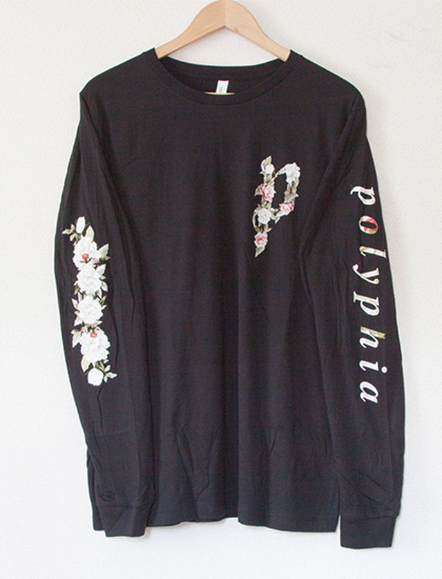 【POLYPHIA】Flower Long Sleeve (Black)