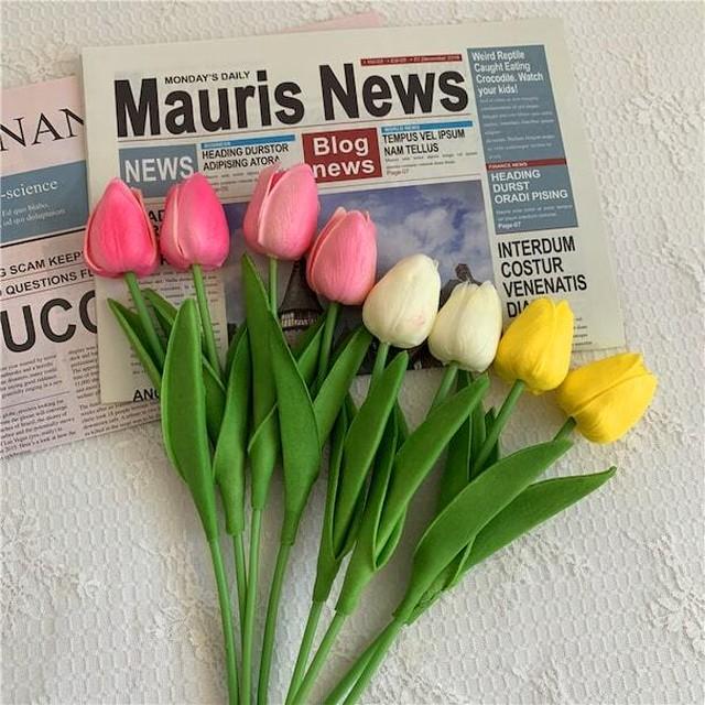 造花チューリップ3本セット R1006