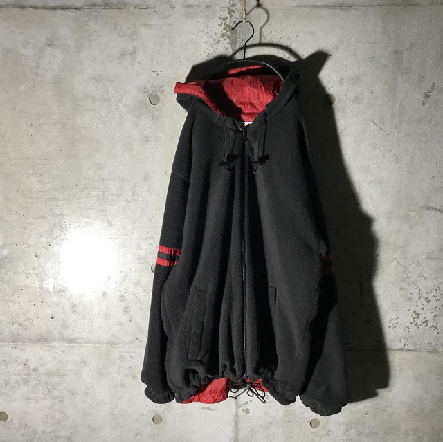 [Champion]reversible black and red jacket