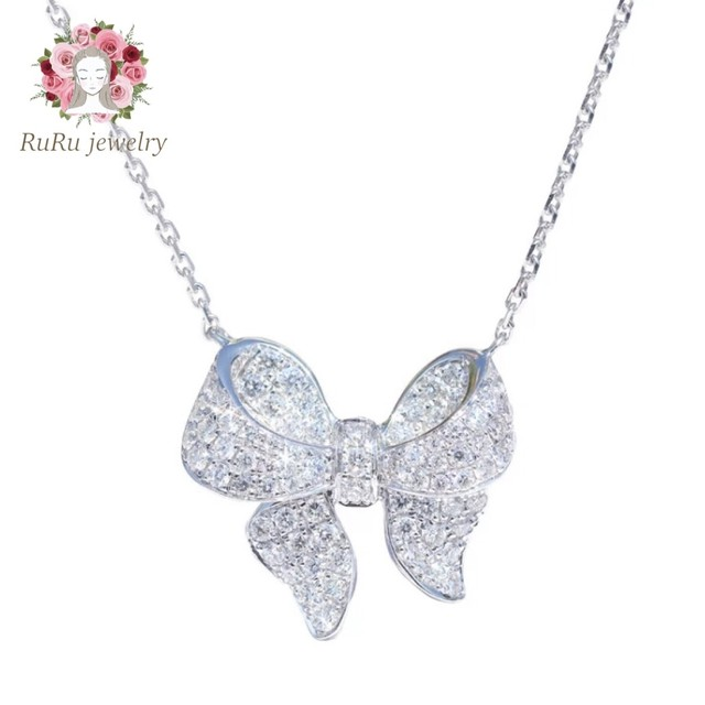 s925 angel ribbon(necklace)