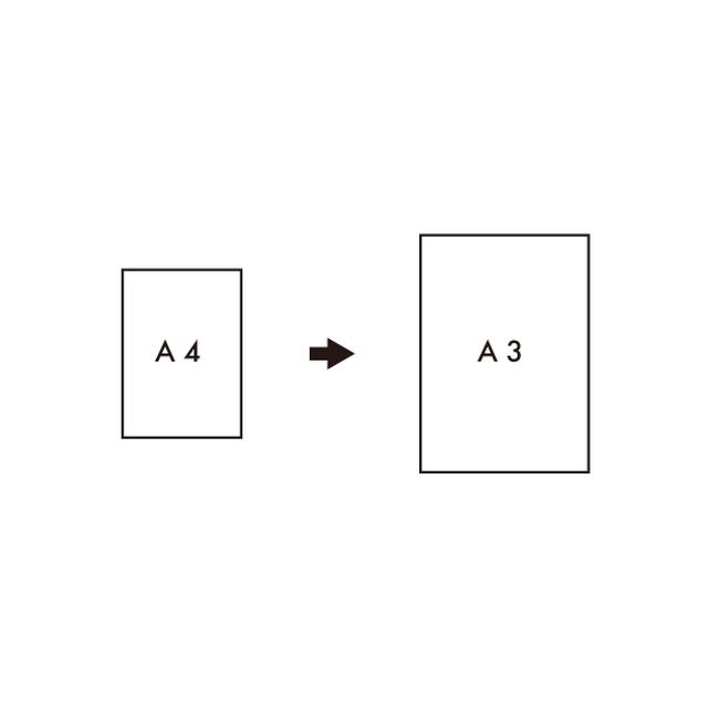 [A3]サイズアップ