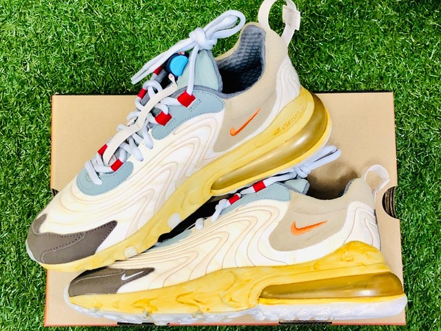 NIKE × TRAVIS SCOTT AIR MAX 270 CACTUS TRAILS CT2864-200 27㎝ 410JF6598