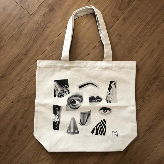 野津萌/Moe Notsu「tote bag - A」