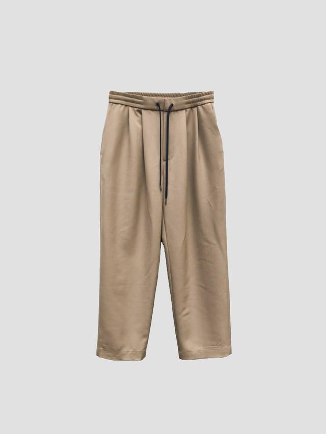 BEST PACK Standard Wool Easy Pants Beige BPS-20H-021-4
