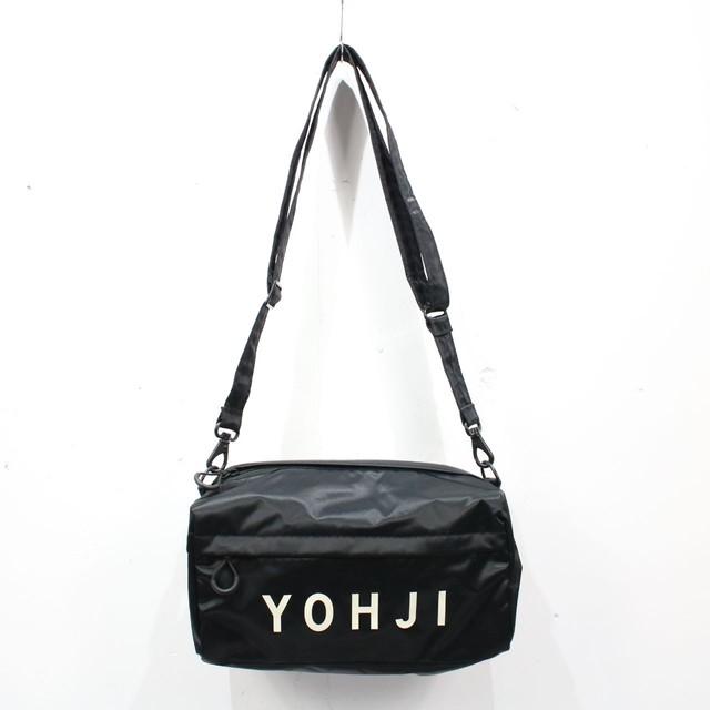 【美品】Y-3 / ワイスリー | YOHJI グラフィックミニバッグ | ブラック | メンズ
