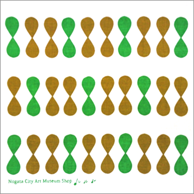 ルルル手ぬぐい 緑