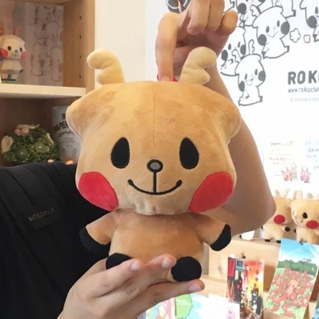 【ロク】ぬいぐるみ(中)MY ROKU 016号