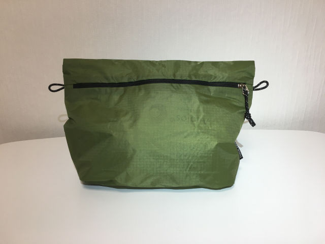 【Paagoworks】 W-face pouch 3(moss green)