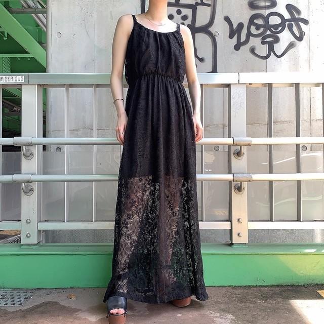 """BONGO"" USA  vintage lace onepiece"