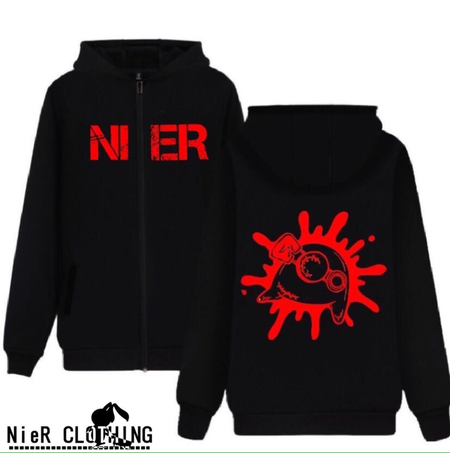 NieR BLACK ZIP OUTER