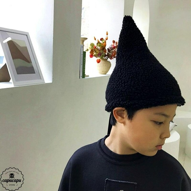 « sold out» dressmonster conical hat 2colors コニカル ハット