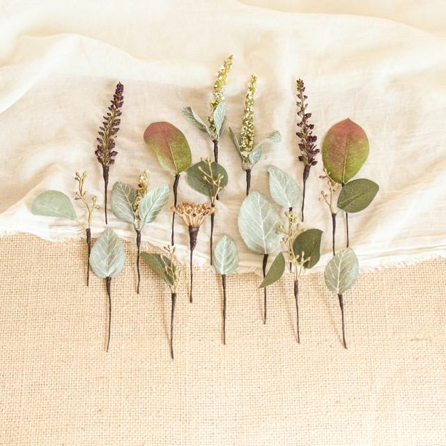 "Hair parts for ""Banksia Bouquet """