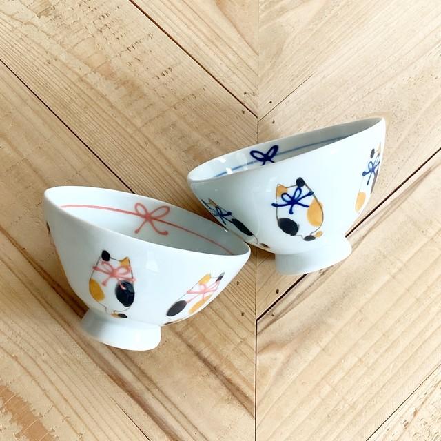 六猫  ご飯茶碗