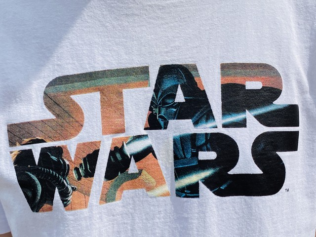 A BATHING APE × STAR WARS CONCEPT ART TEE WHITE LARGE 30JF6881