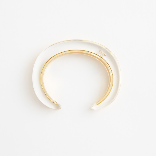JUTIQU/Timeless Bangle 2_20mm zirconia×3
