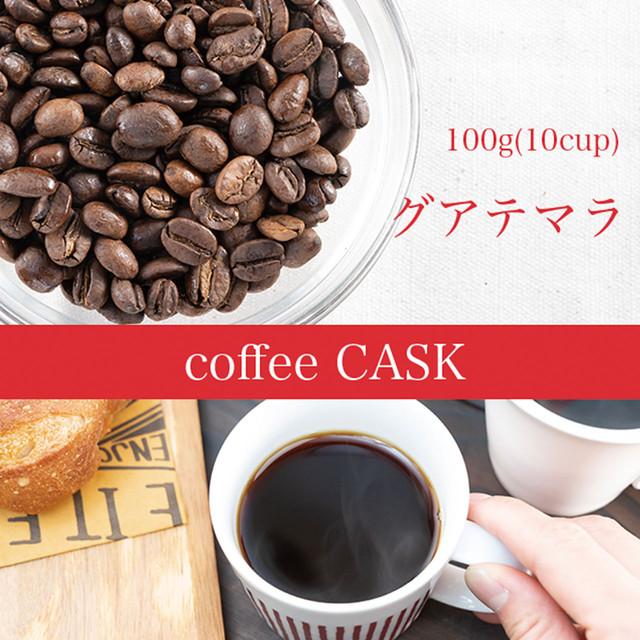 ガテマラ・100g(10杯分)レギュラーコーヒー 優しいコーヒーがお好きな方へおすすめ!