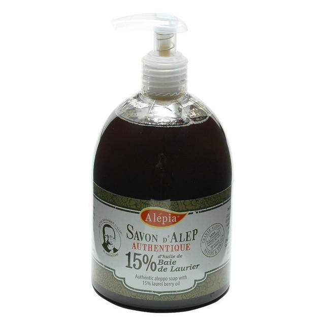 Alepia(普通肌・脂性肌・混合肌)オリーブ&ローレルソープ [リキッド] ローレル15%