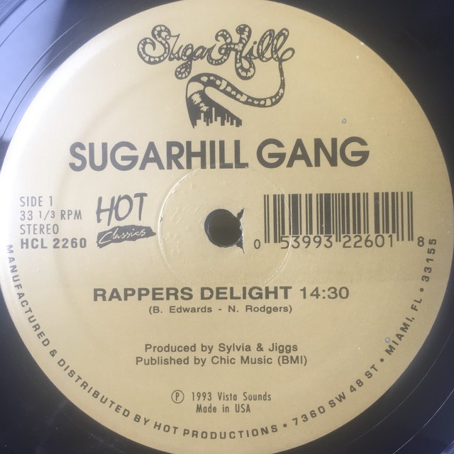 Sugarhill Gang ‎– Rappers Delight / 8th Wonder