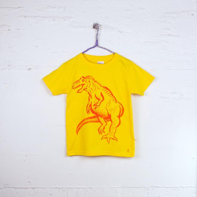 TshirtsComplex 板垣翠「ティラノサウルスTシャツ」