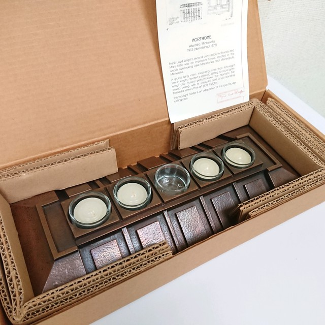 Frank Lloyd Wright Collection/フランク・ロイド・ライト 5 Slots Votive Tea Light Candle Holder