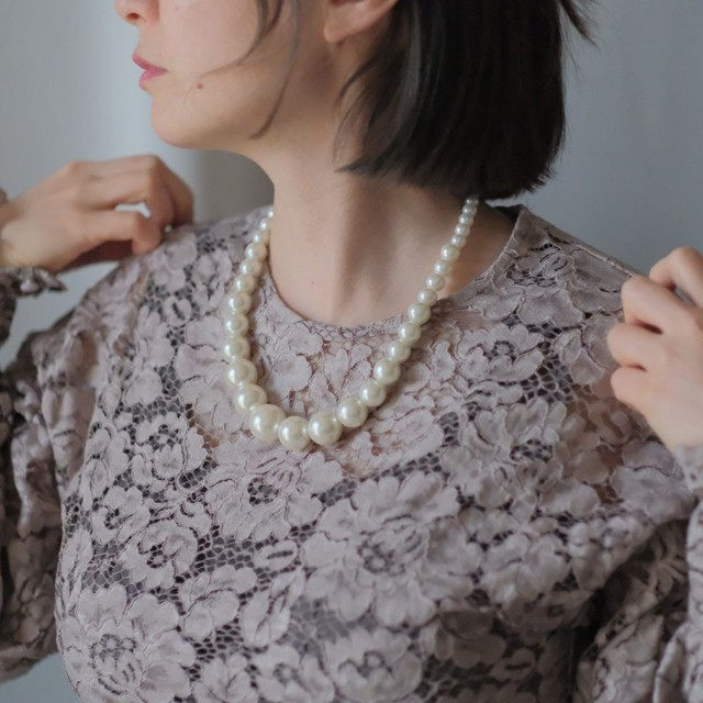 the spring knit + vintage collection: the pearl necklace edition 7
