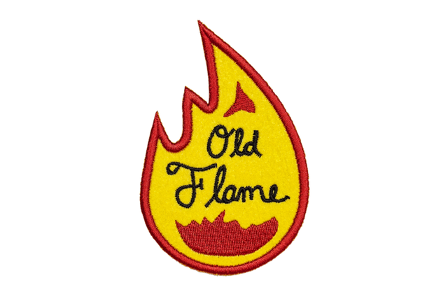 OLD FLAME Embroidered Patch