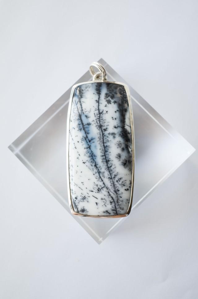 Dendritic Opal Pendat  Silver925 - 005