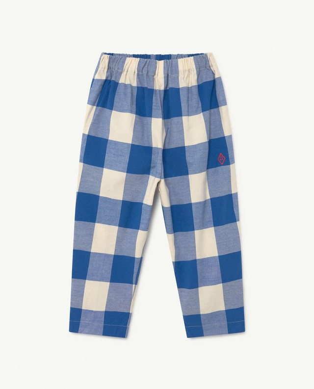 【21AWpre】the animals observatory ( TAO ) ELEPHANT KIDS TROUSERS パンツ チェック