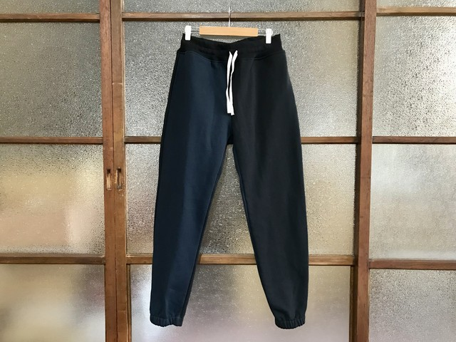 万屋MARUオリジナル SWEAT PANTS (MULTI BLACK/NAVY)
