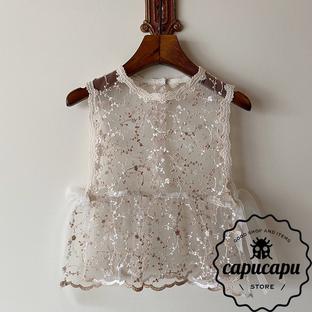 [sold out]  Lace vest レースベスト