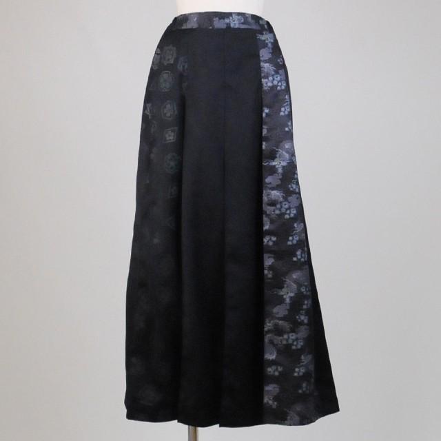 gouk侍 袴風メンズプリーツスカート GGD25-S826 BK/MM