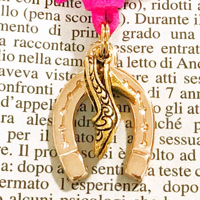 ◆幸運の馬蹄アクセサリー◆ シンデレラの靴(しんでれらのくつ) 「玉の輿運・幸せが訪れる・恋愛・結婚運のパワーアップ」
