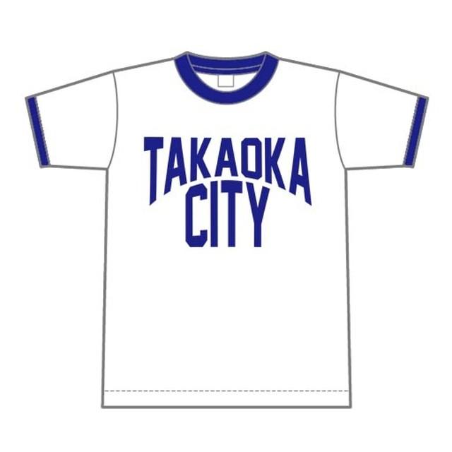 TAKAOKA CITY リンガーTシャツ【高岡市】